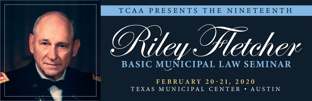 TCAA Riley Fletcher Seminar