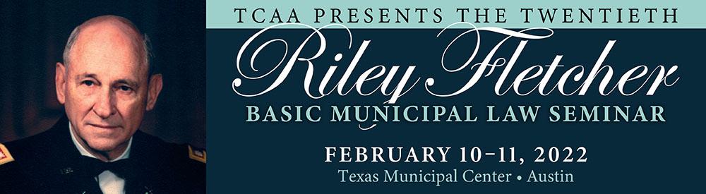 TCAA Riley Fletcher Seminar